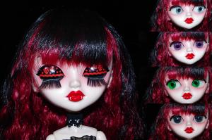 Vampire Girl Eyes